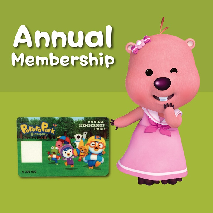 Buy Child Annual Membership (for child aged 2-12 years)