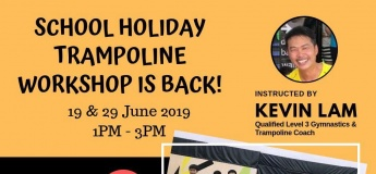 School Holiday Trampoline Workshop