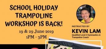 School Holiday Trampoline Workshop