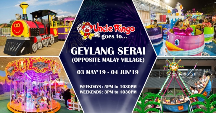 Uncle Ringo is going to Geylang Serai!