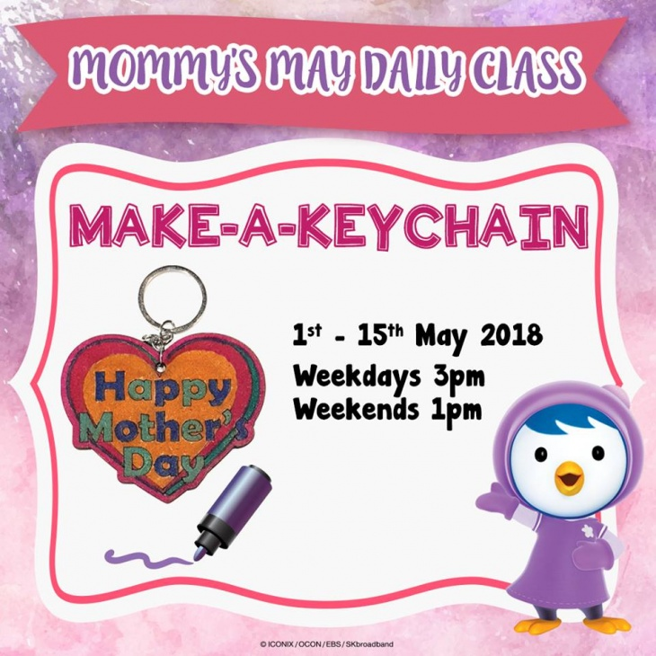 Mommy's Day Daily Class: Make-A-Keychain