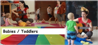 (Suspended until further notice) Babies / Toddlers Classes