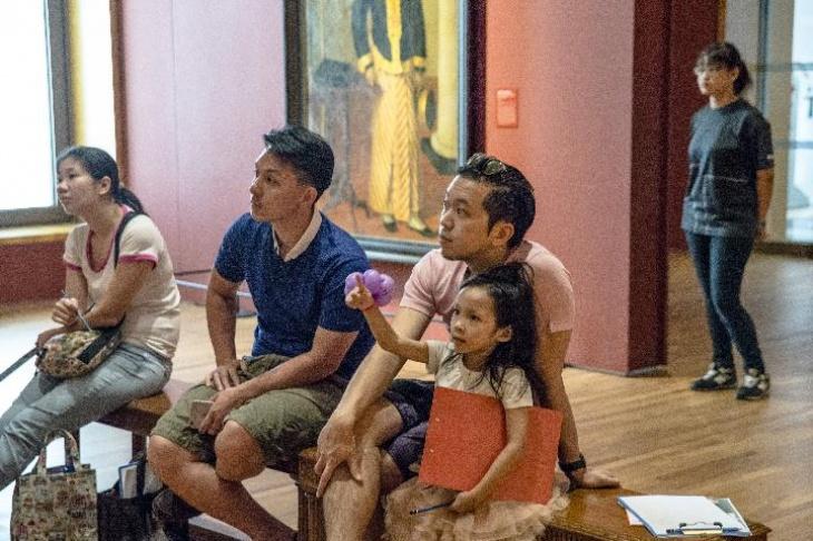 Art Explorers: Of Boys and Men