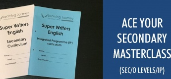 Ace your Secondary English Masterclass (Sec/O levels/IP)