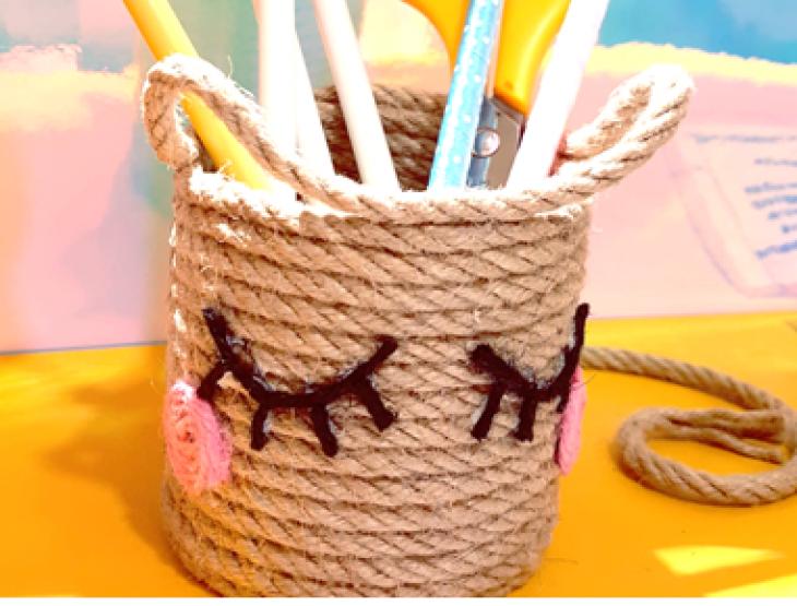 DIY Pencil Holder Workshop