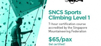 SNCS Sports Climbing Level 1