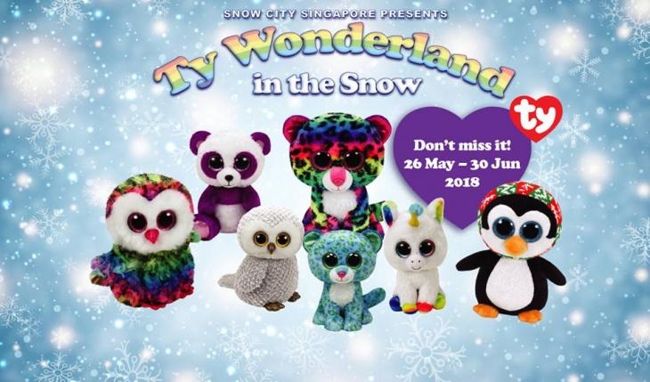 Ty Wonderland in the Snow