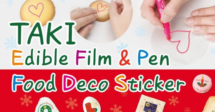 TAKI Edible Film & Pen Workshop | Tickikids Singapore