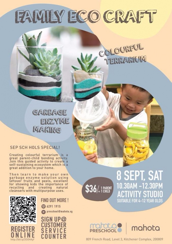 Family ECO Craft | Tickikids Singapore
