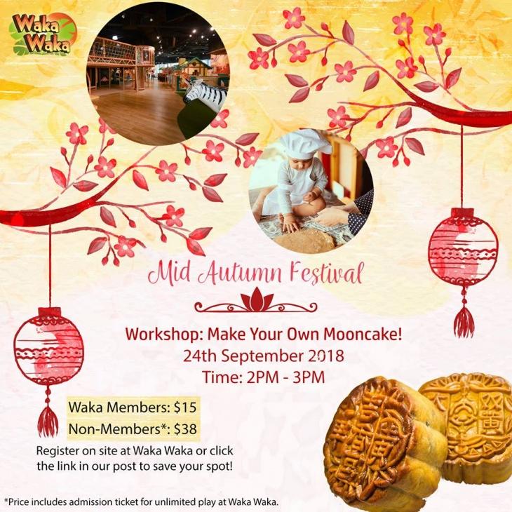 Mooncake Making Workshop