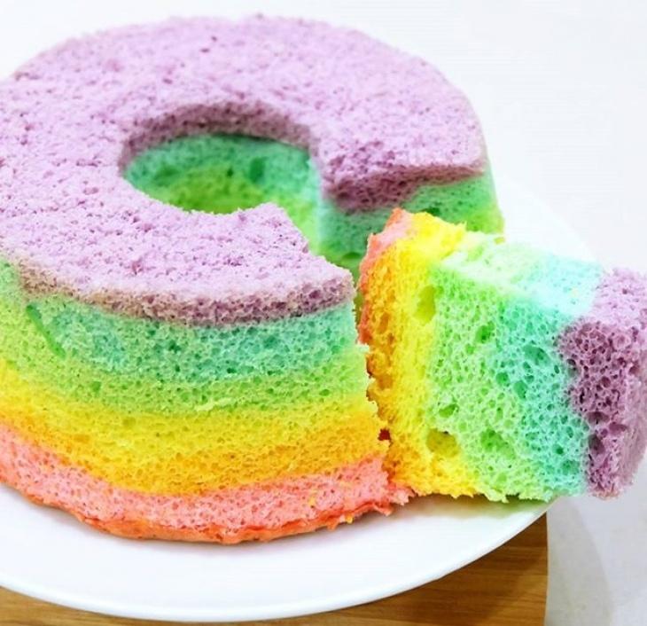 Junior Whisk Rainbow Chiffon Cake Tickikids Singapore
