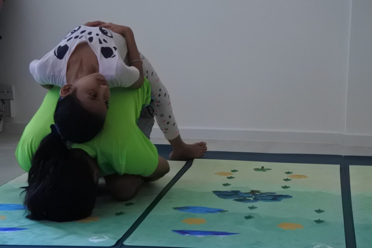 Yoga and Fabled Adventure for Kids (The Hare and The Tortoise)