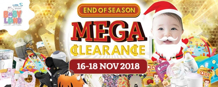 Baby Land – End of Season Mega Clearance Sales