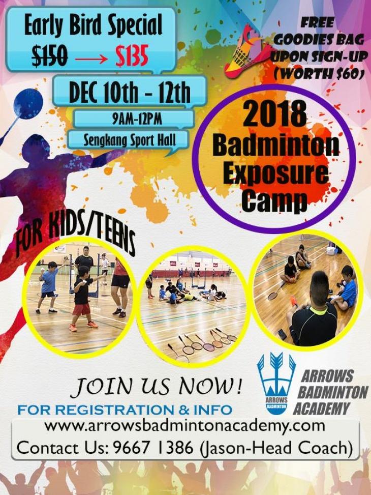 Badminton Exposure Camp
