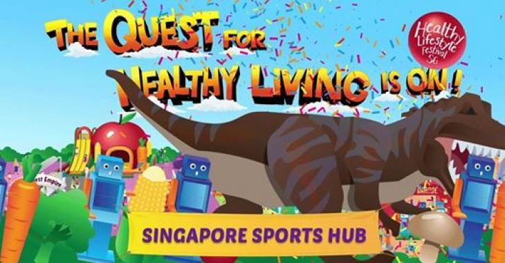 Healthy Lifestyle Festival SG: Singapore Sports Hub Grand Finale