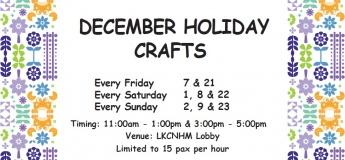 December Holiday Crafts