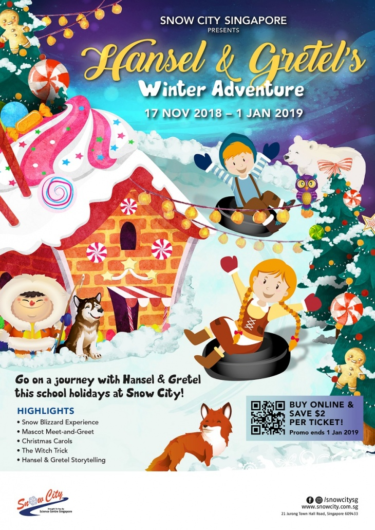 Hansel & Gretel's Winter Adventure