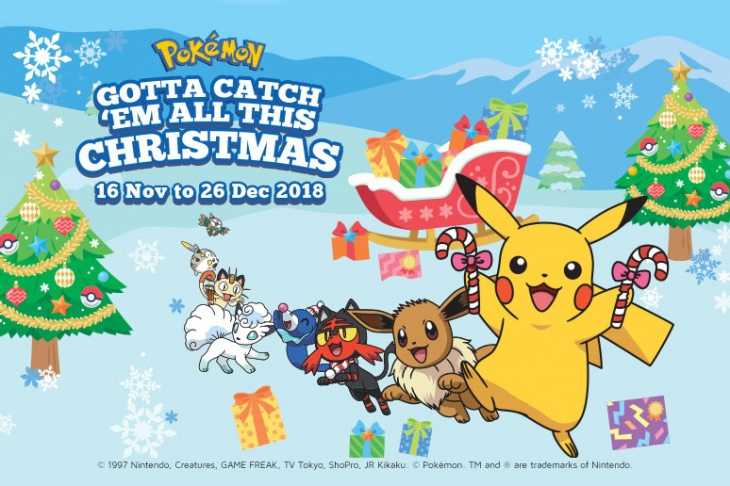 Pokemon Christmas.Gotta Catch Em All This Christmas At M Malls Tickikids