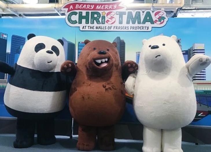 Meet-and-Greet We Bare Bears@Malls