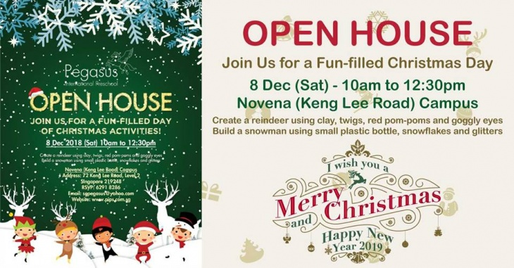 Christmas Day Open House