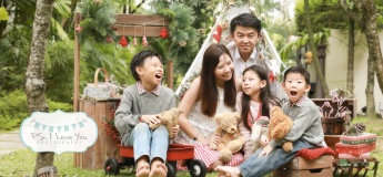 Christmas Family Photoshoot @ P.S. I love You Photography