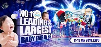 Baby Fair 2019 – Baby World Fair 11 to 13 Jan 2019 at Singapore Expo