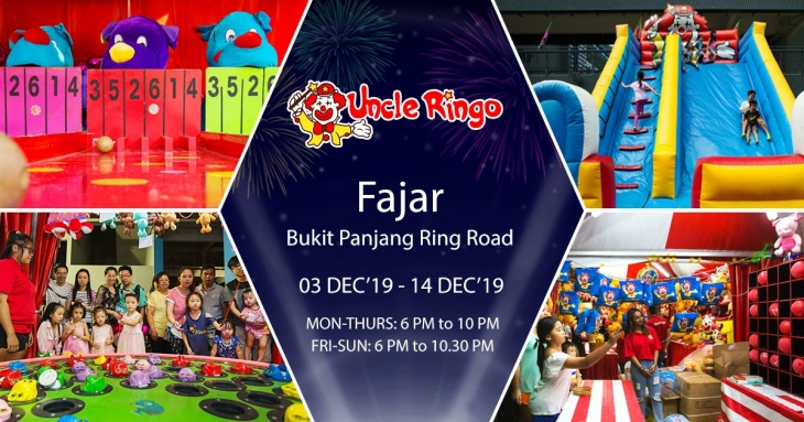 Uncle Ringo is going to Fajar!