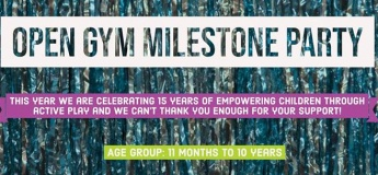 Open Gym Milestone Party