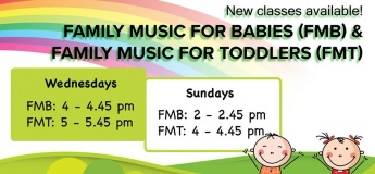 Family Music For Babies (Parent/Child )