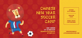 Chinese New Year Soccer Camp