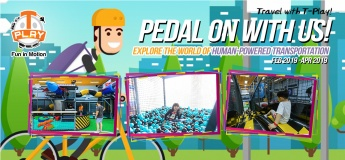 Travel with T-Play: Human-Powered Transportation