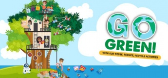 Go green with reuse, reduce and recycle activities@SAFRA Jurong