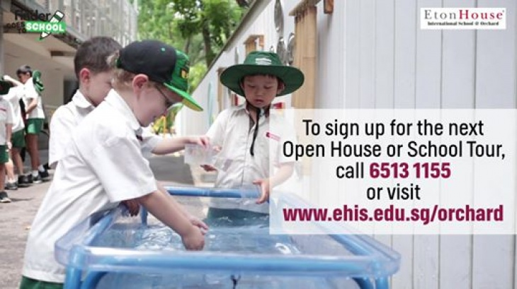 EtonHouse Orchard Open House - 16 March