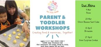 Parent & Toddler – Choco Banana Swirl Cake
