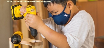 3-Day Basic Woodworking For Kids