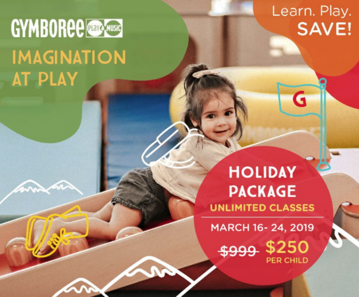 Holiday Package @ Gymboree Play & Music