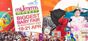 Baby Fair 2019 – Mummys Market - 19 to 21 April 2019 at Singapore Expo