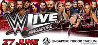 WWE LIVE SINGAPORE 2019
