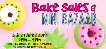 Bake Sales & Mini Bazaar
