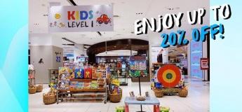 Mega Toy Sale up to 20% OFF at VivoCity
