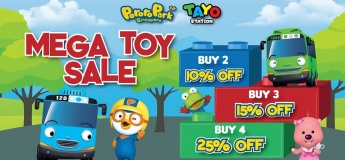 Mega Toy Sale at Downtown East