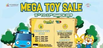 Mega Toy Sale at Our Tampines Hub