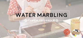 Tinker Technique: Water Marbling
