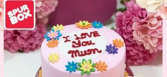 [Junior Gourmet] Garden Cake For Mom