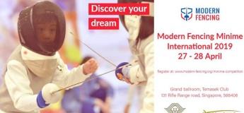 Modern Fencing Fencing Minime International 2019
