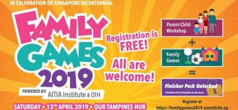Family Games 2019@Our Tampines Hub