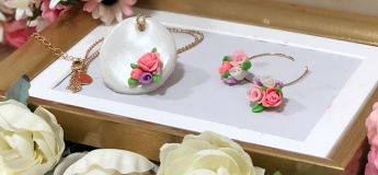 [Art Discovery Kids] Floral Love Jewelry Set