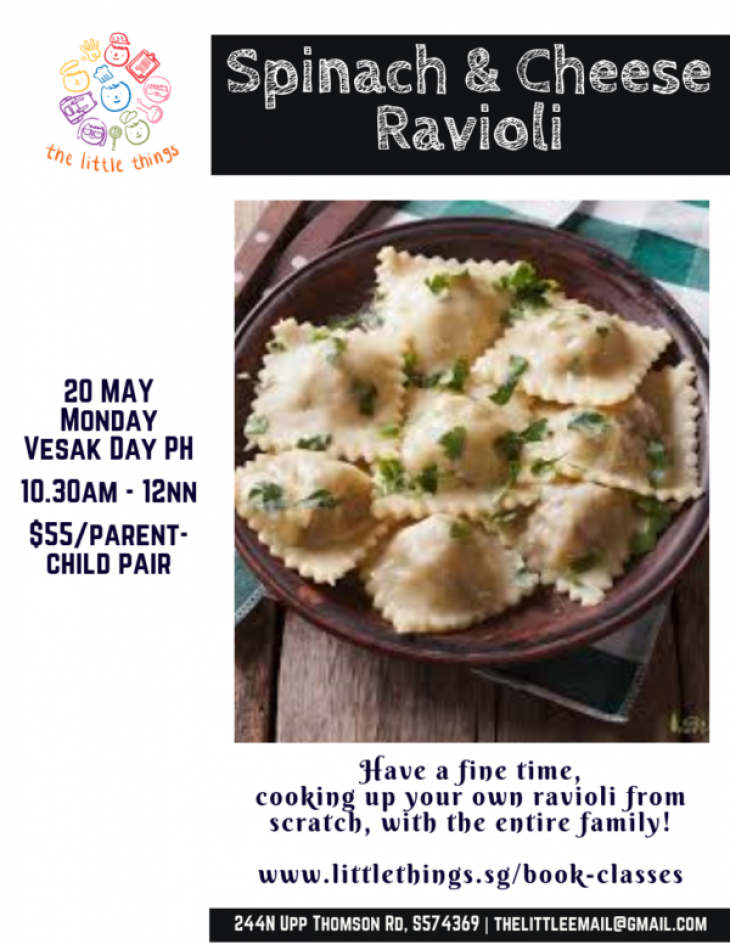 Parent+Child – Spinach & Cheese Ravioli