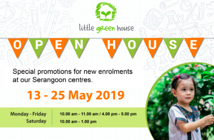 Little Green House Open House May 2019