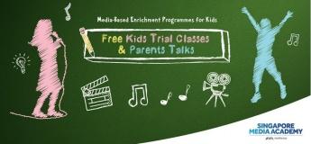 Kids Trial Classes & Parents Talks